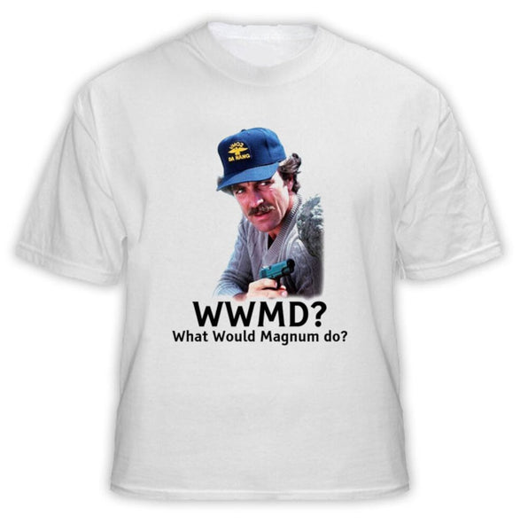 WWMD What Would Magnum Do TV Show Selleck T Shirt   Cool Casual pride t shirt men Unisex Fashion tshirt free shipping funny tops
