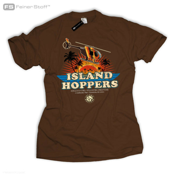 Island Hoppers Tom Magnum Tv Selleck Fan 80'S Hawaii T-Shirt Thomas Retro Kult Men Tops 2019 Summer Fashion New Cool Tee Shirts