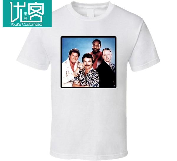 Magnum PI tv show Tom Selleck T Shirt   Cool Casual pride t shirt men Unisex New Fashion tshirt free shipping tops ajax