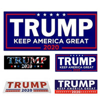 10pcs 2020 Election Us President Donald Trump Trunk Stickers