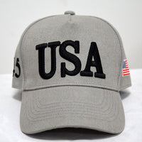 Fashion Trump Baseball Cap USA Letter Embroidery GOP Republican Patriots Caps Men Women Casual Trump President Sun Hat CP0149