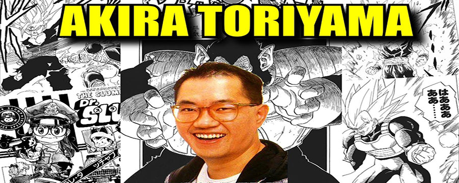 DRAGON BALL FRANCE - IONIQ SHOP BLOG - VERITABLE HISTOIRE AKIRA TORIYAMA
