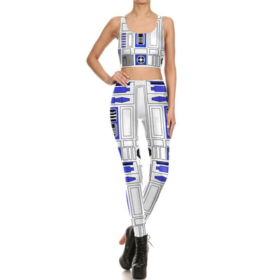 VIP FASHION 2019 Best Selling Women Leggings 3D Space Printed War Suits Pants Outdoor Fitness Sports Leggings For Ladies - iONiQ SHOP