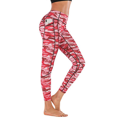 Legging Camo Pocket - iONiQ SHOP