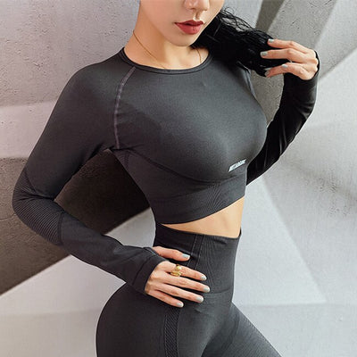Legging Top Manches Longues