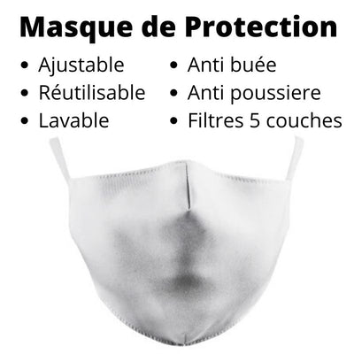 Lot 50 filtres pour Masque Protection - iONiQ SHOP