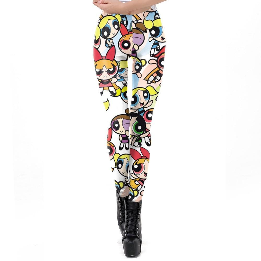 Legging Cartoon Powerpuff