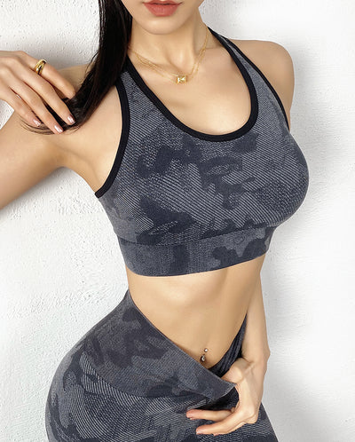 Legging Top Camouflage