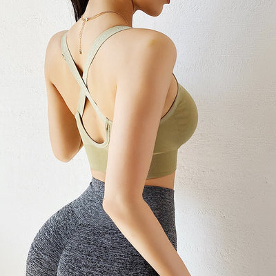 Legging Top Bra Zip