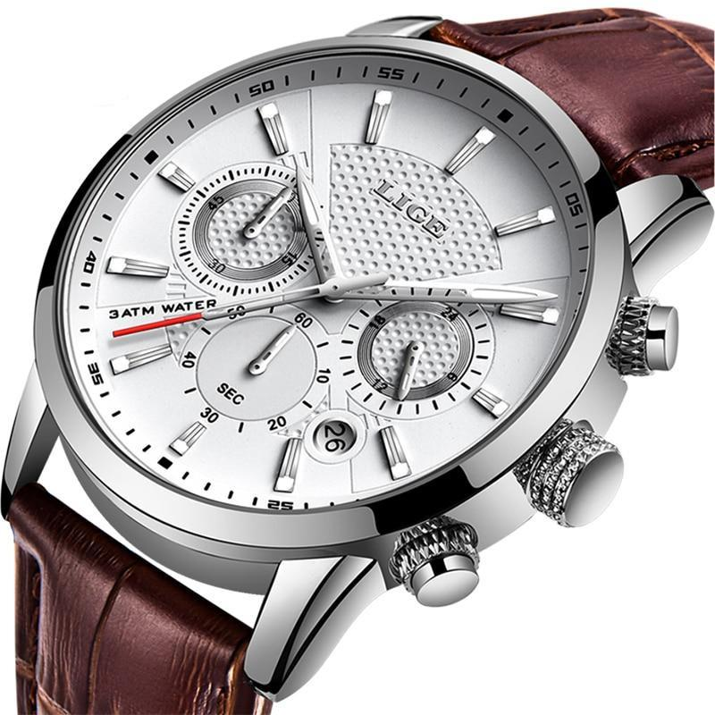 Montre Lige Leather | IONIQ SHOP