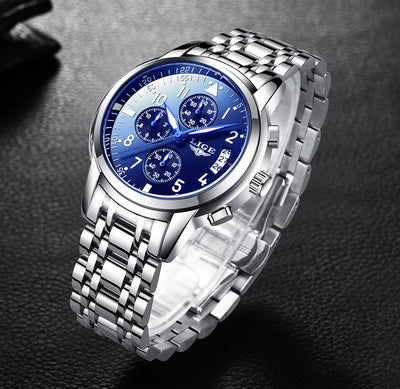 Montre Lige Steel | IONIQ SHOP