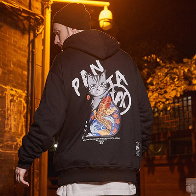 STREET WEAR HOODIE ARTY | JAPAN URBAN WEAR - iONiQ SHOP