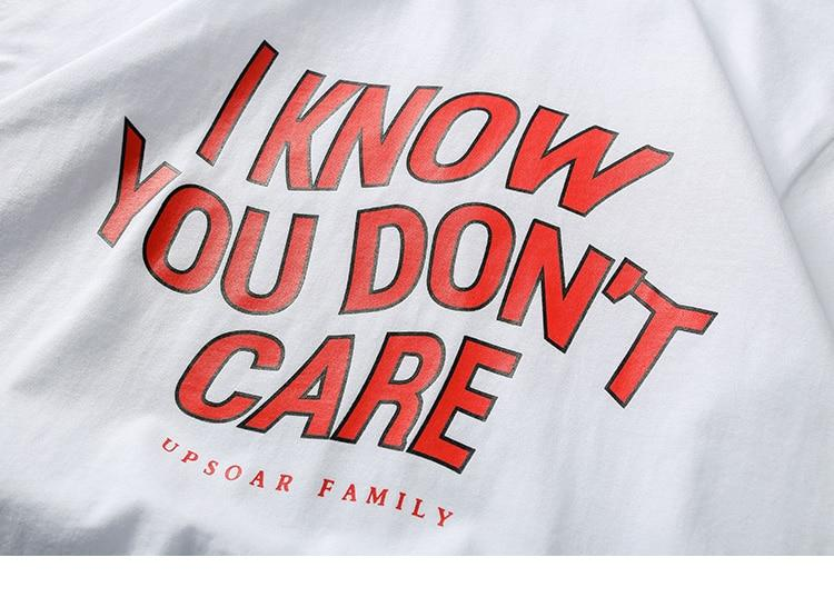 T-Shirt You Dont Care