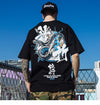 STREET WEAR T-SHIRT SNAKE | JAPAN URBAN WEAR - iONiQ SHOP