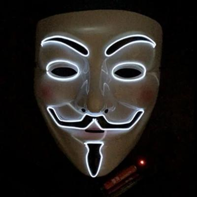 Masque LED Vendetta- Glowing Mask Anonymous | IONIQ SHOP