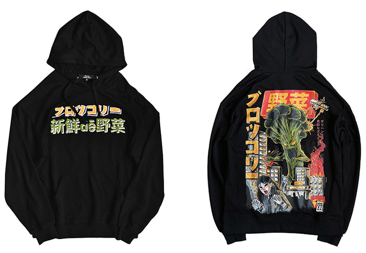 Street Wear Hoodie Graff | Japan Urban Wear BRKL