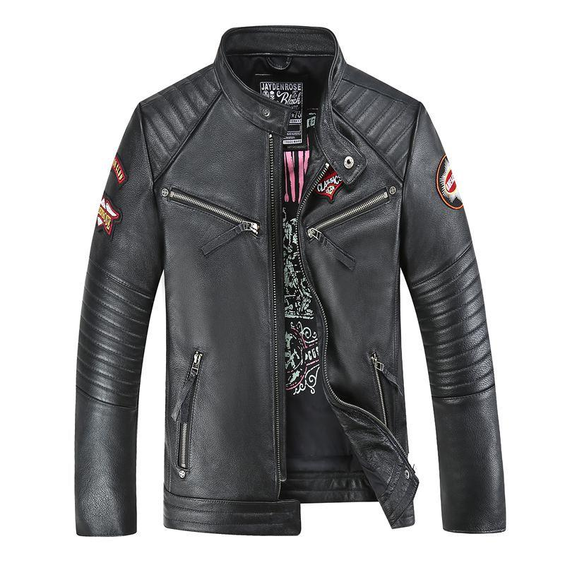 Veste en Cuir American Customs édition Jayden Rose