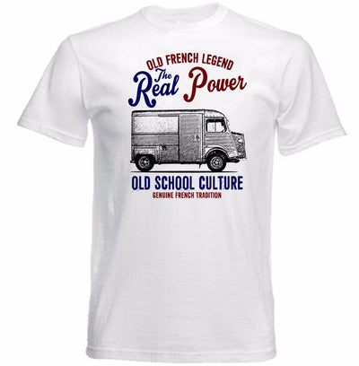 T-Shirt Vintage French Car 78 Van Citroen - iONiQ SHOP