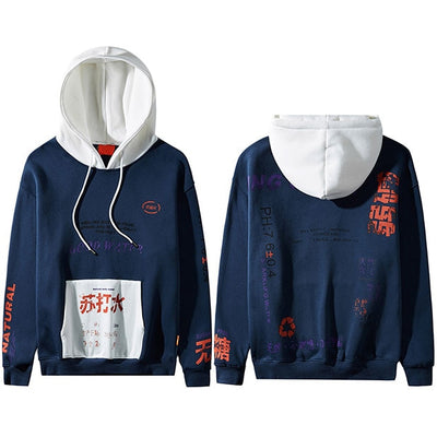 STREET WEAR HOODIE GRAFF | JAPAN URBAN WEAR - iONiQ SHOP