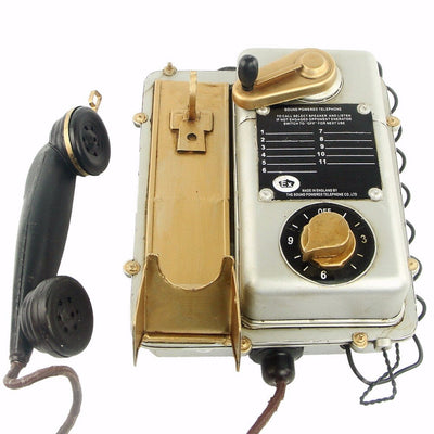 Telephone Retro - Decoration Vintage