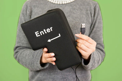 USB Big Enter Key Computer - Mega Touche Entrée USB | iONiQ SHOP - iONiQ SHOP