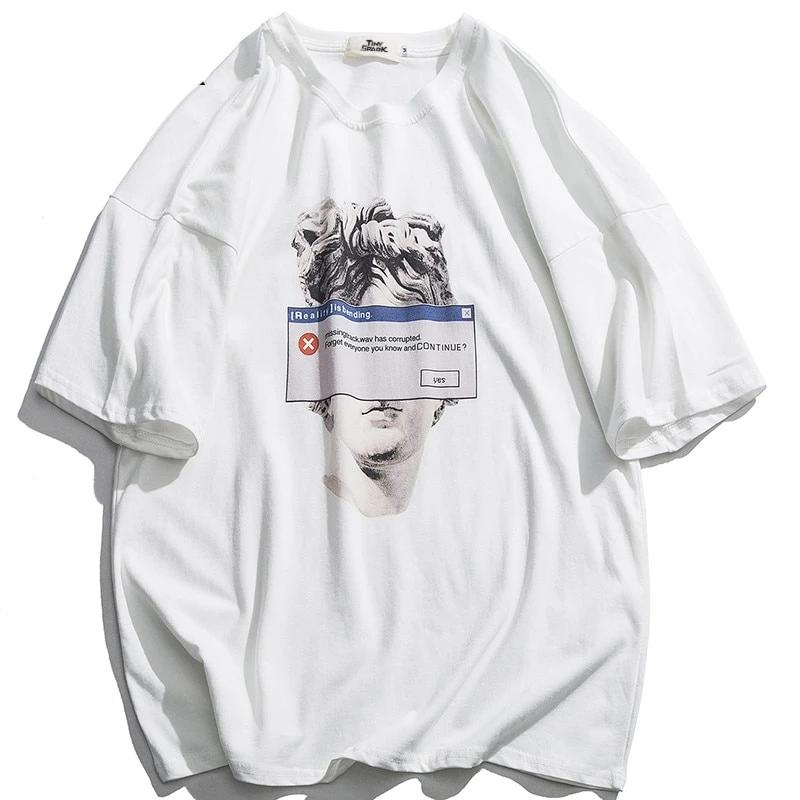 T-Shirt Michelangelo Statue David - iONiQ SHOP