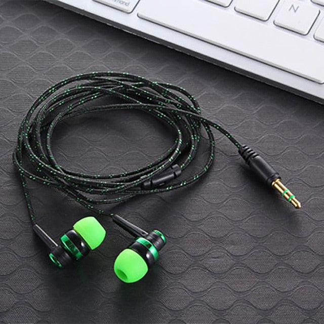 EARPHONE WIRED - Ecouteurs en Nylon | IONIQ SHOP - iONiQ SHOP