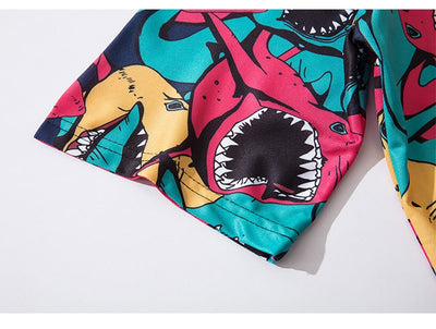 T-Shirt Multi Shark - iONiQ SHOP