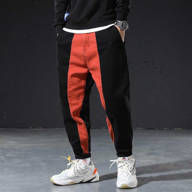 STREET WEAR BI COLOR PANT | JAPAN URBAN WEAR CHILL