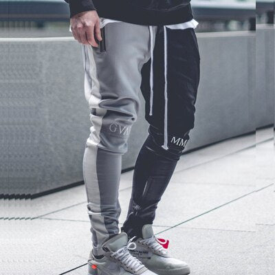 Street Wear Bi-Color Pant | Japan Urban Wear GYM