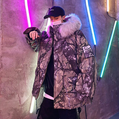 Street Wear Parka Camo | Japan Urban Wear HHP - iONiQ SHOP