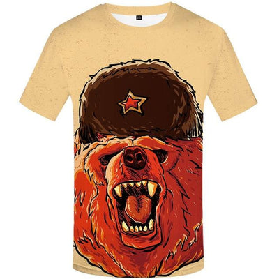 T-Shirt Russe Kalash - iONiQ SHOP