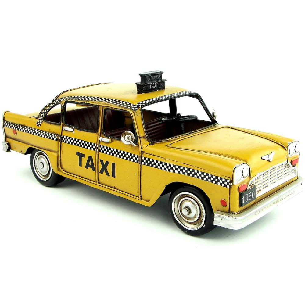 Taxi NYC Retro - Decoration Vintage