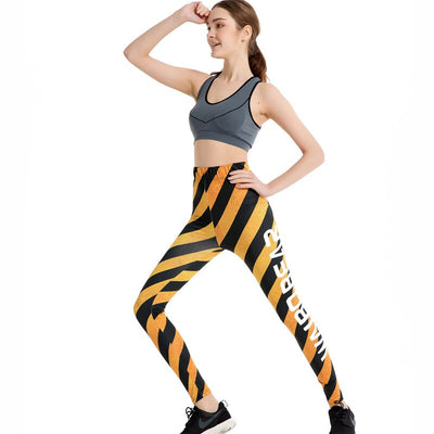 Legging Black & Yellow - iONiQ SHOP