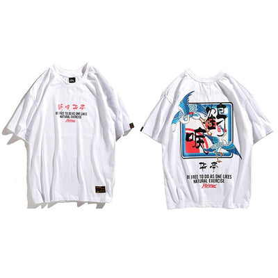 Street Wear T-Shirt Birdy | Japan Urban Wear - iONiQ SHOP