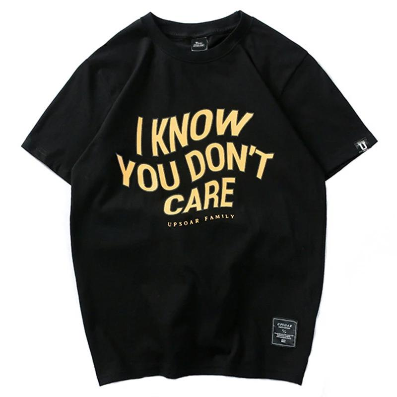 T-Shirt You Dont Care - iONiQ SHOP