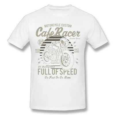 T-Shirt Cafe Racer Retro Vintage - iONiQ SHOP