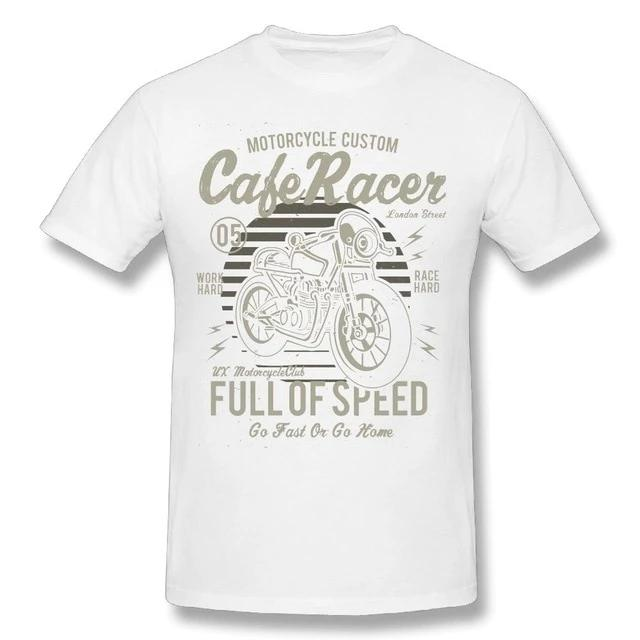 T-Shirt Cafe Racer Retro Vintage