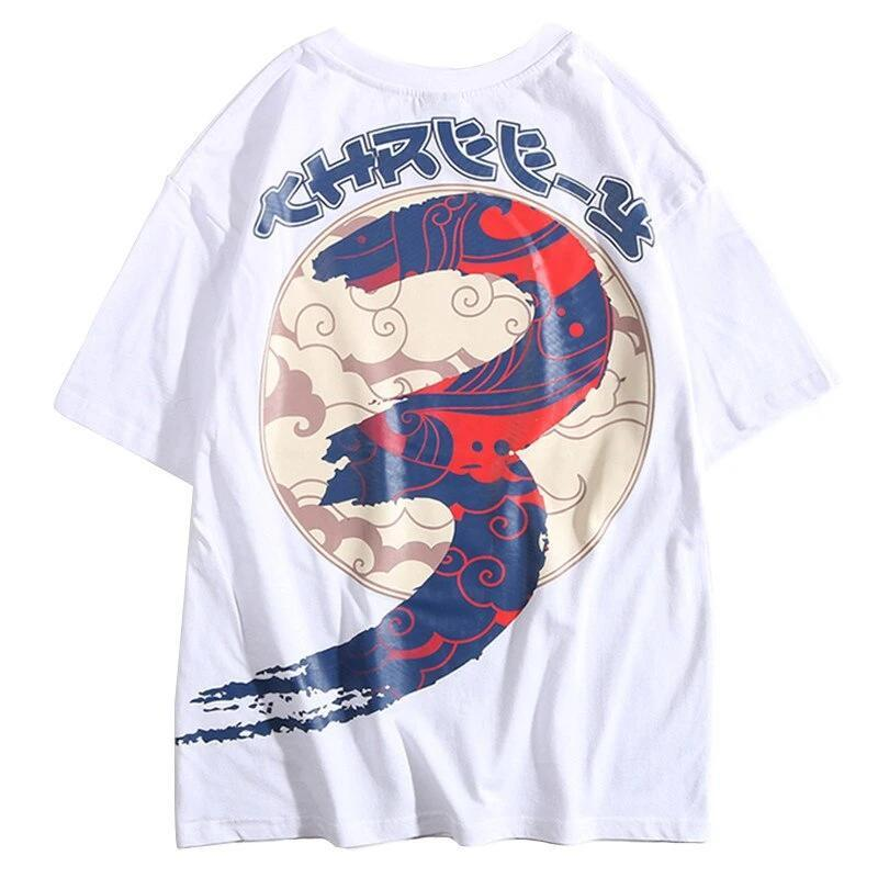 Street Wear T-Shirt Cloud Tree | Japan Urban Wear