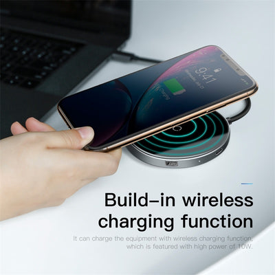WIRELESS CHARGER + HUB 3.0 - Chargeur Induction de Smartphone + Hub usb | IONIQ SHOP - iONiQ SHOP