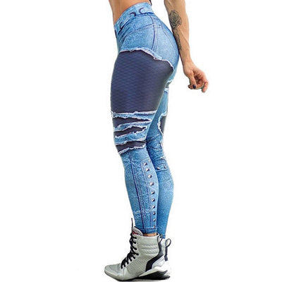 Legging Illusion Jean - iONiQ SHOP