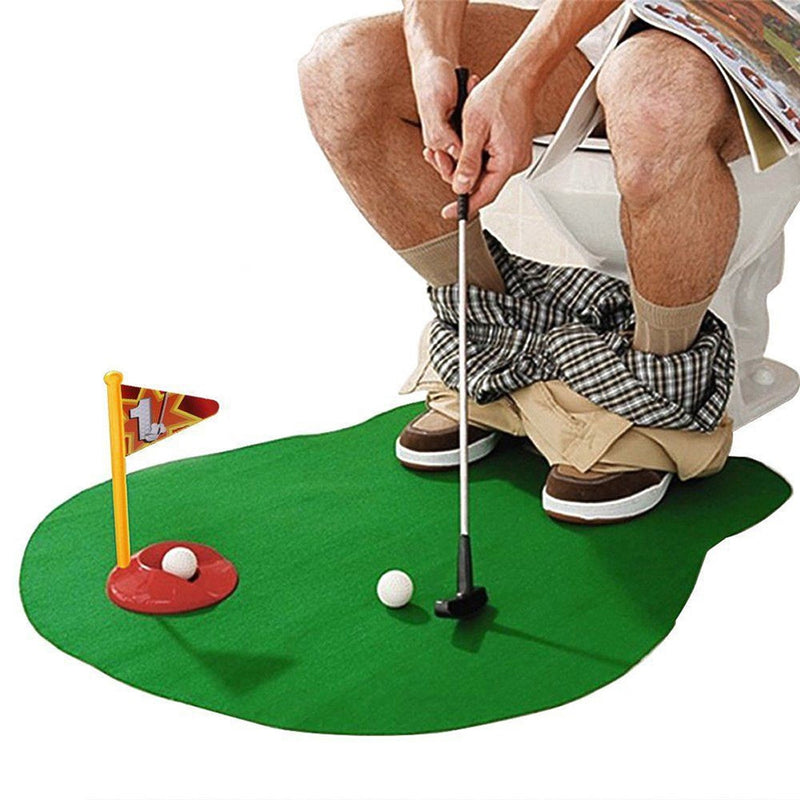 GOLF FUNNY WC - Mini Golf de Toilettes | iONiQ SHOP - iONiQ SHOP