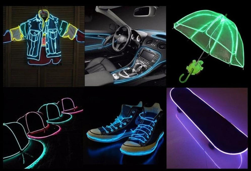 Cable LED Neon - DIY Glowing Light | IONIQ SHOP - iONiQ SHOP