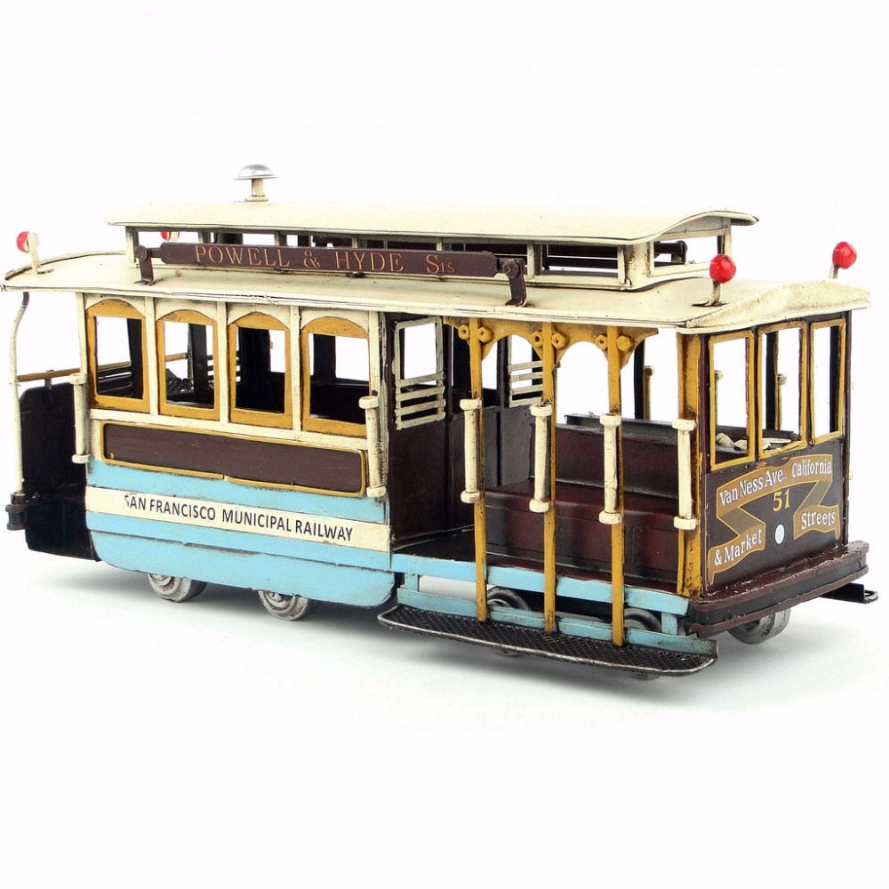 Tramway USA Retro - Decoration Vintage