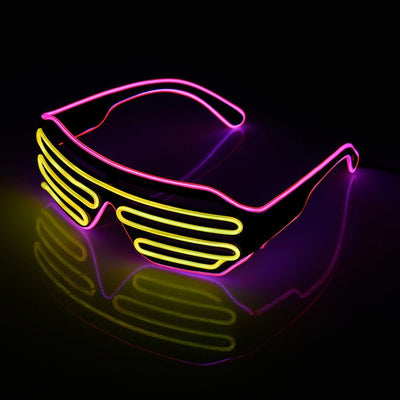Lunettes LED Lumineuses - Glowing Neon Glasses - iONiQ SHOP