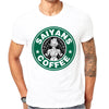 T-Shirt Dragon Ball Z Saiyans Coffee - iONiQ SHOP