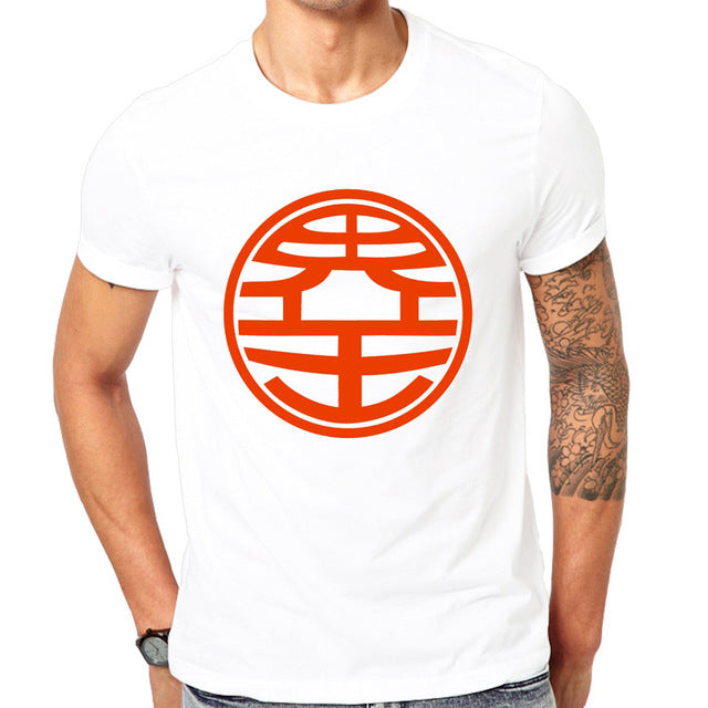T-Shirt Dragon Ball Logo Maitre Kaio & Kame