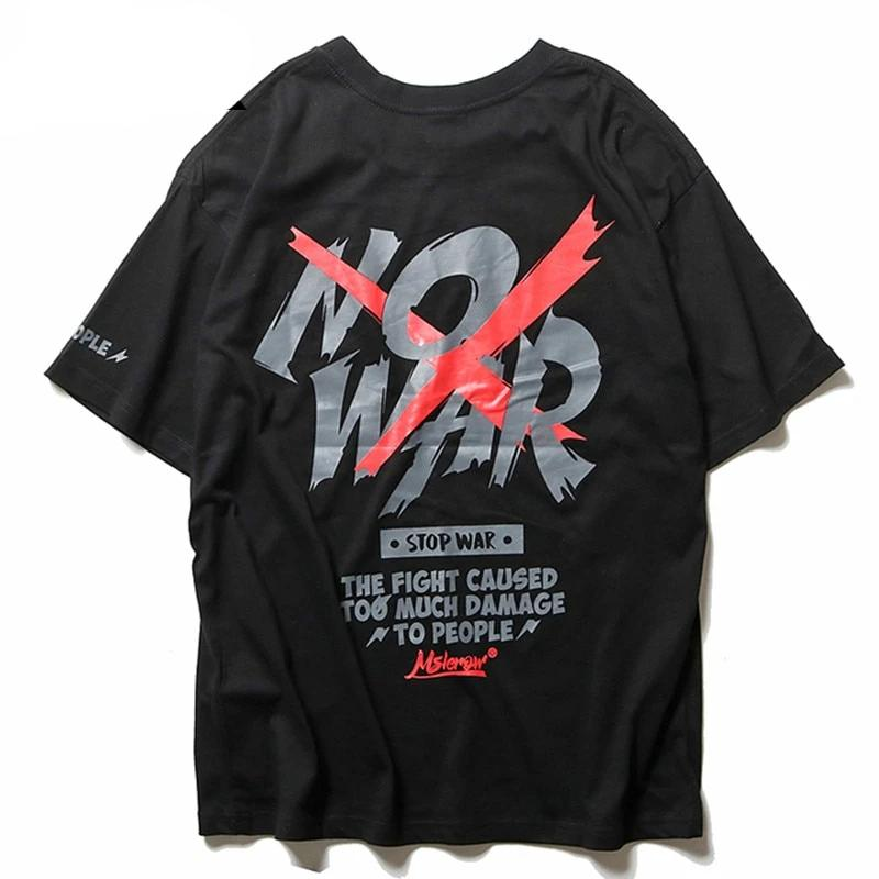 T-Shirt No War Fight - iONiQ SHOP