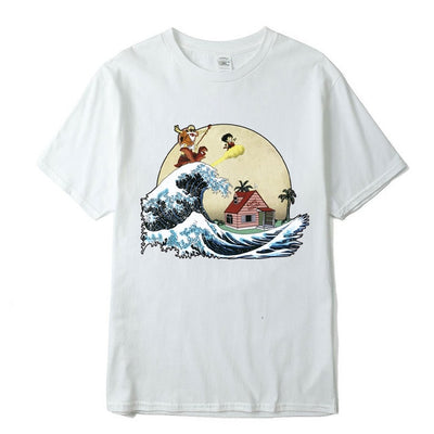 T-SHIRT DRAGON BALL KAME X HARAJUKU - iONiQ SHOP