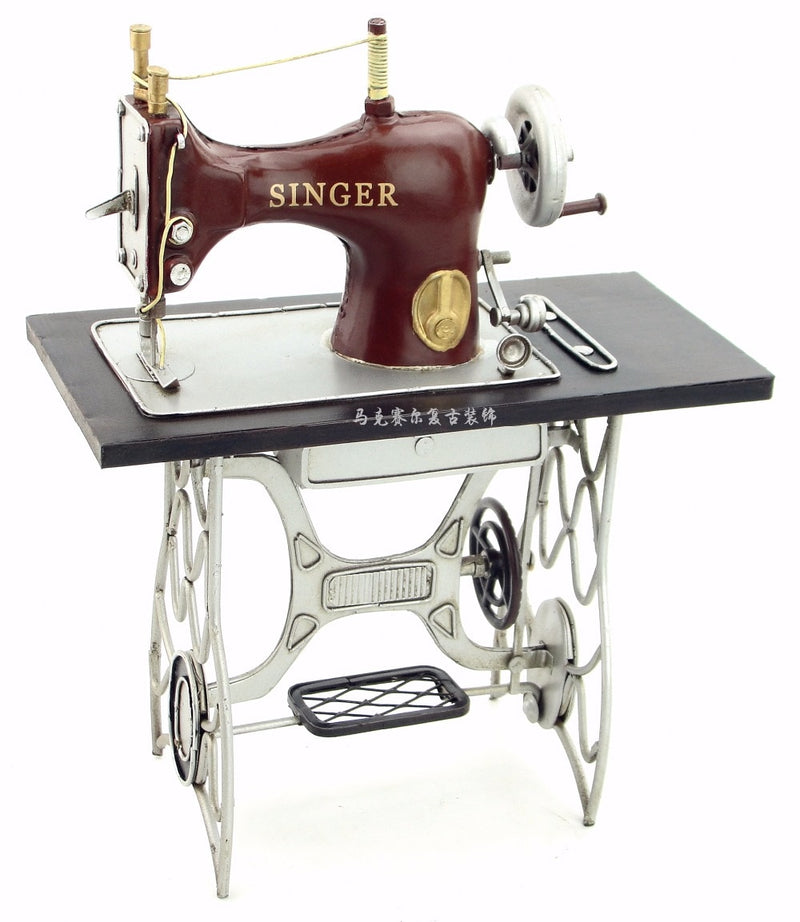 Singer Machine à Coudre Retro - Decoration Vintage